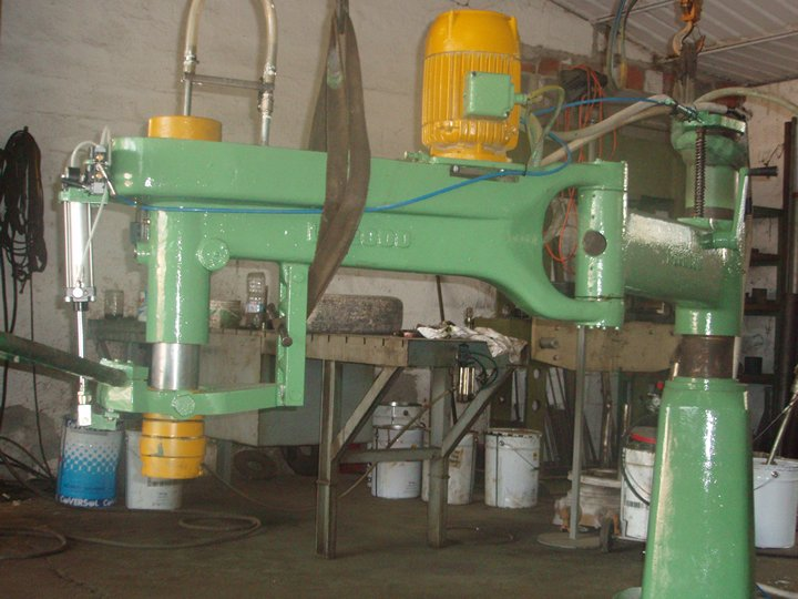Reconditioning of Radial Arm Marble Polishing Machines
