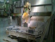 Zambon Rover 825 bridge saw for marble granite