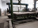 Linea di resinatura per lastre marmo automatica